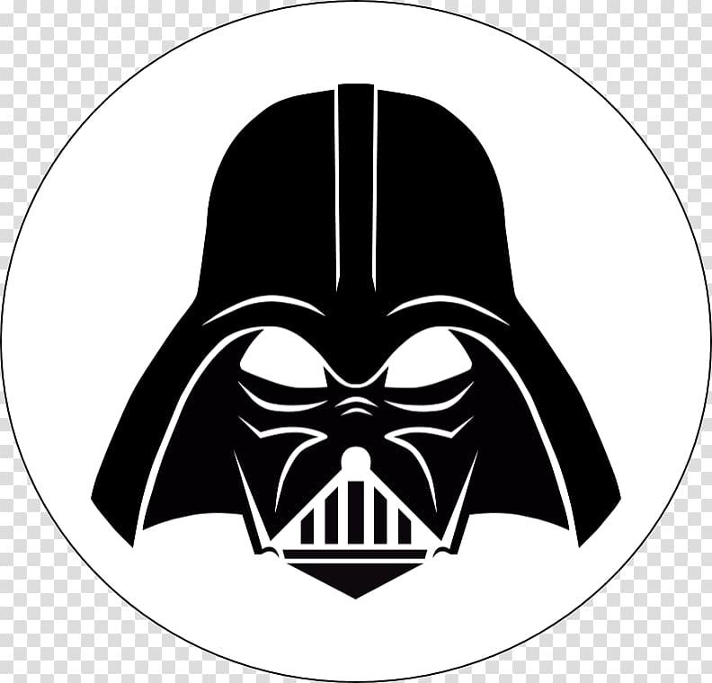 Anakin Skywalker Silhouette Star Wars Stormtrooper Stencil.