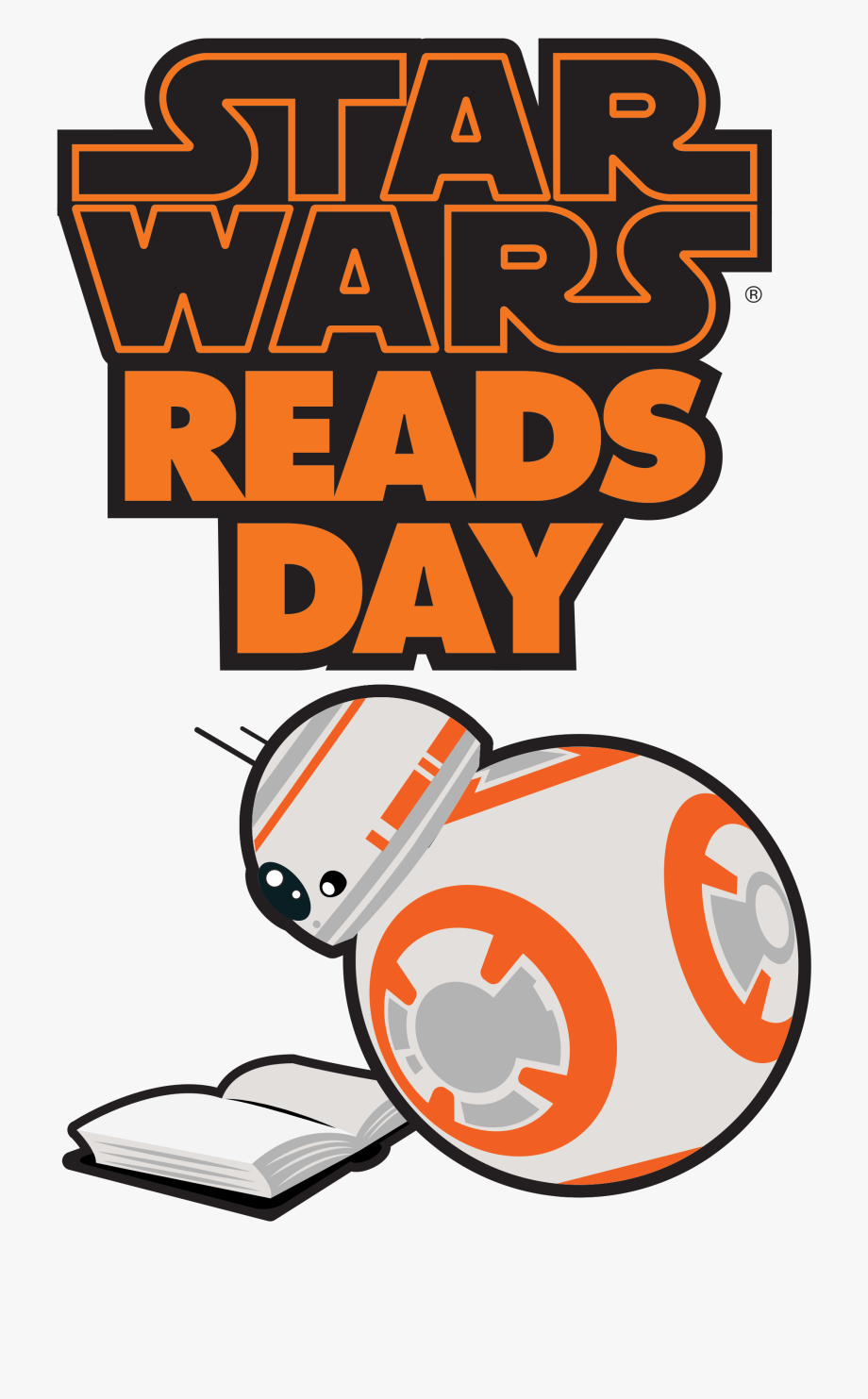 Png Freeuse Library Starwars Clipart Reading.