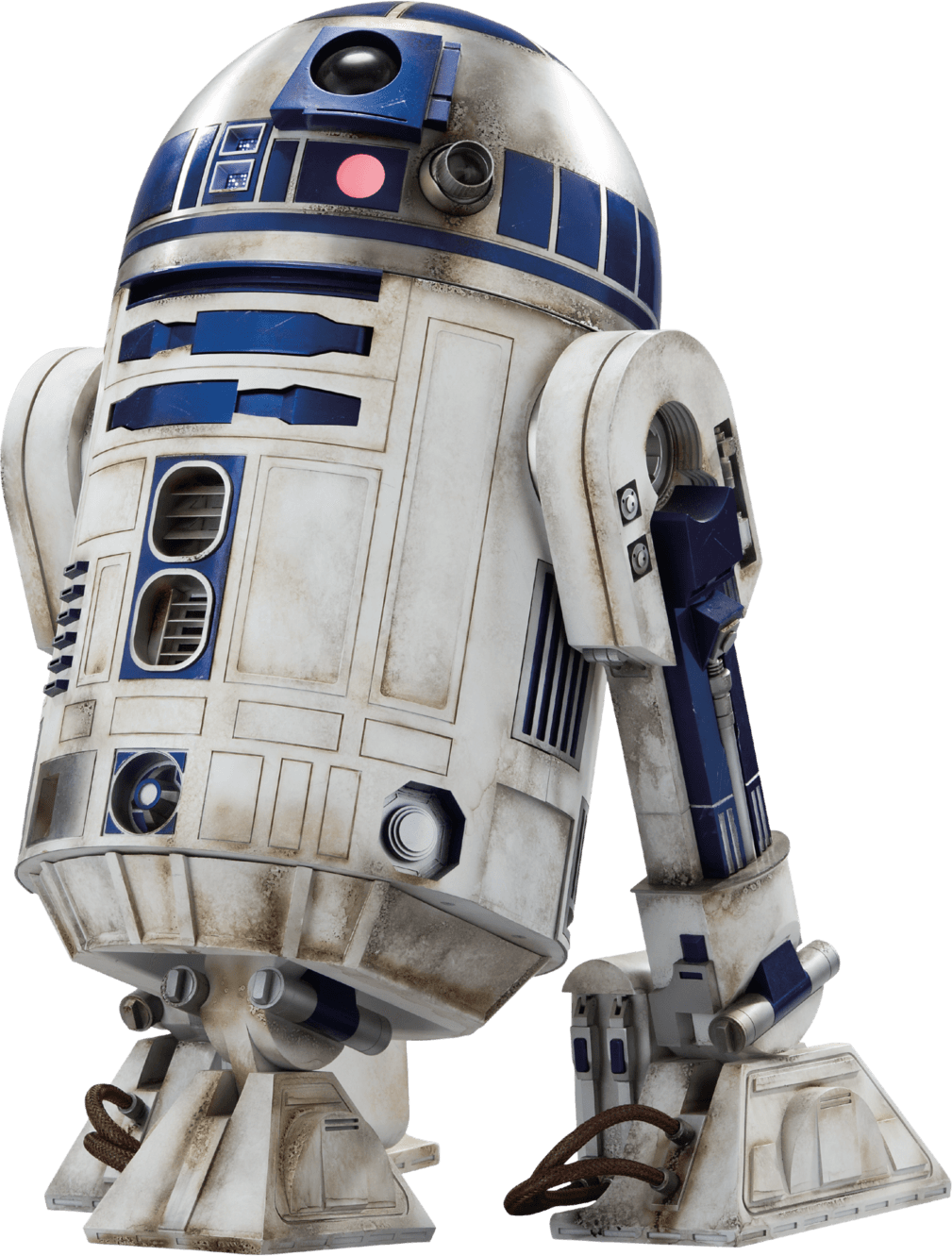 R2d2 Star Wars transparent PNG.