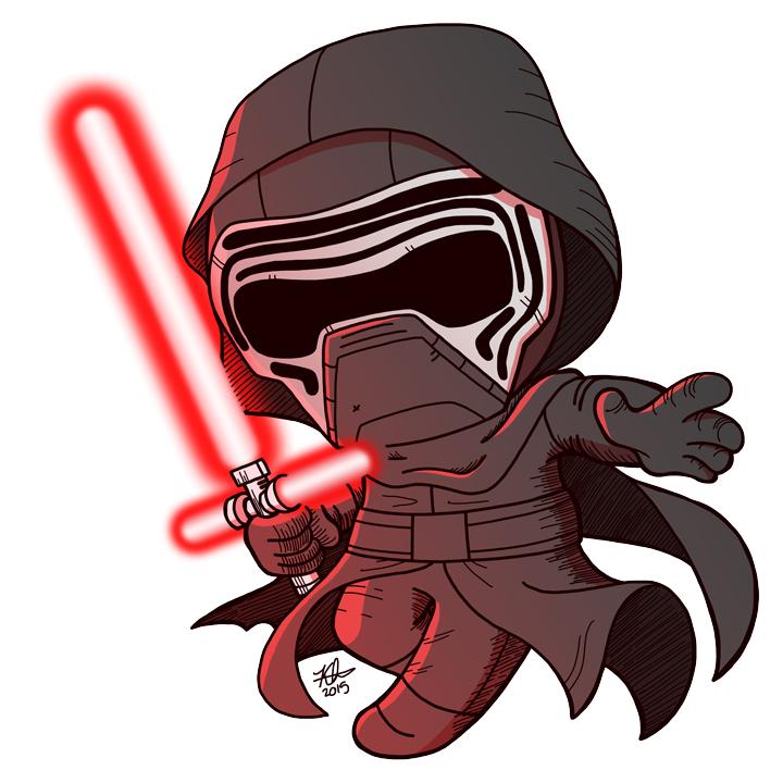 Star Wars Kylo Ren Clipart.
