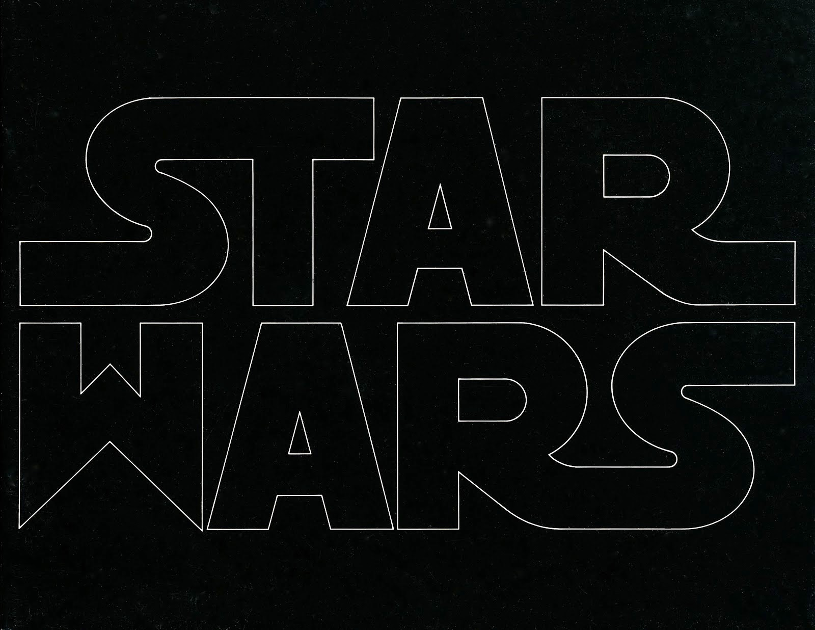 Episode Nothing: Star Wars in the 1970s: May the fonts be.