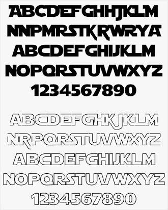 Free star wars font generator.