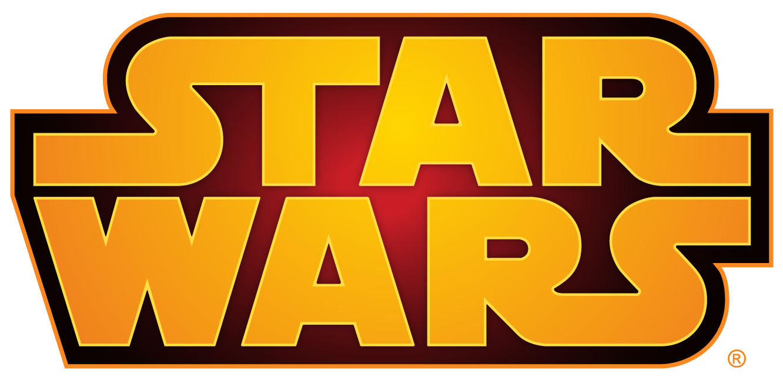 Star wars logo PNG images.