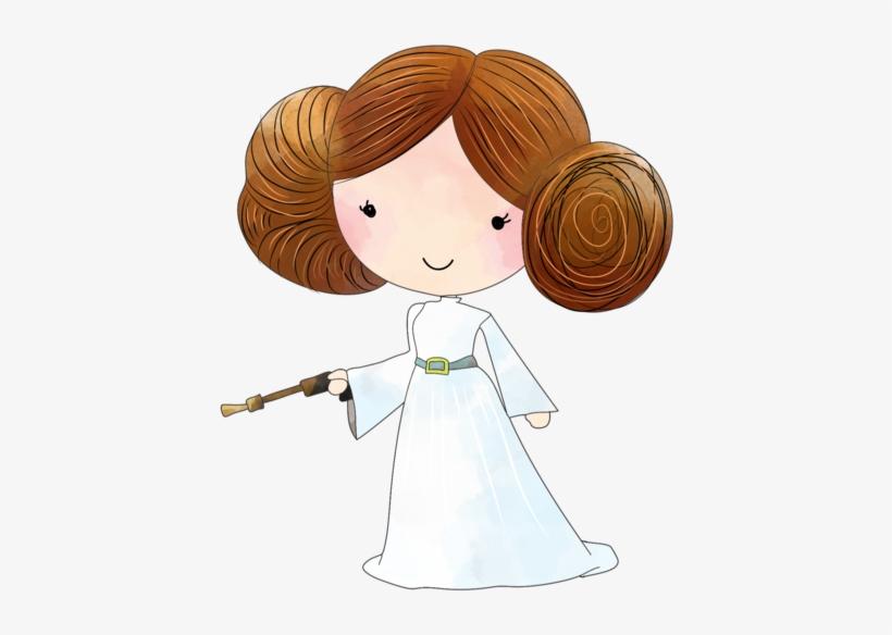 Star Wars Princess Leia Clipart.