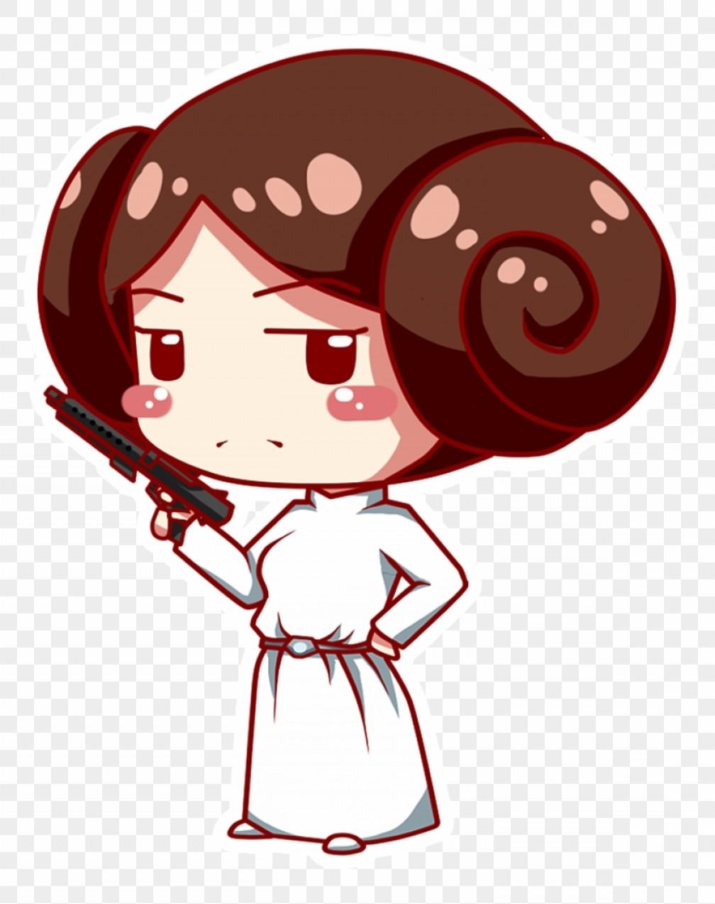 Mimmdbkbprincess Leia Clipart Cute Star Wars Chibi Leia.