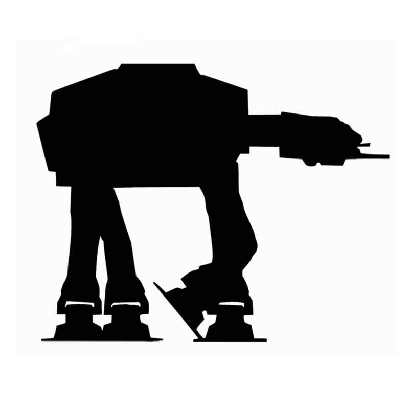 2Pcs/Set Variety of Star Wars Vinyl Wall Stickers Imperial Rebel Alliance  Logo Decal For Laptop/Phone/Car Decoration.