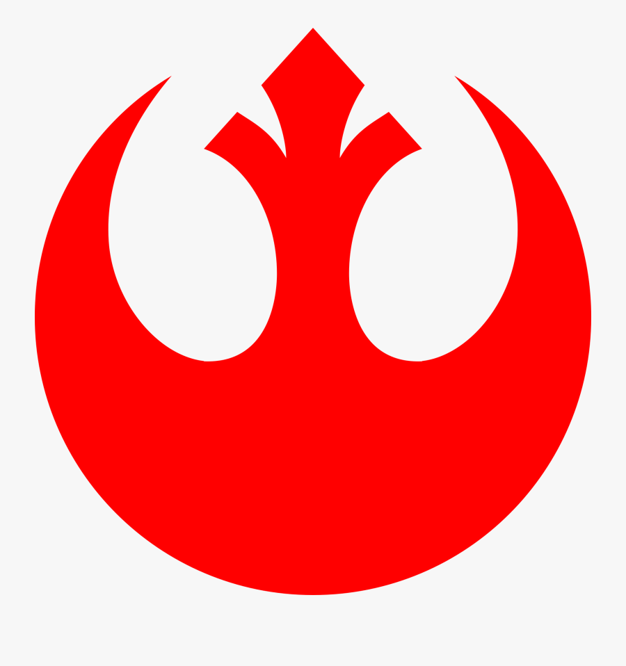 Star Wars Rebel Symbol Red , Free Transparent Clipart.