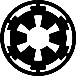 Star Wars Rebel Alliance &, Galactic Empire Insignias/Logos.