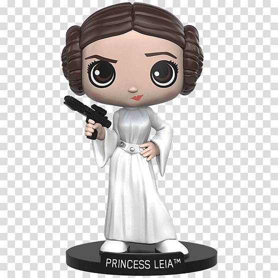 Leia Organa Lando Calrissian Star Wars Rey Bobblehead.