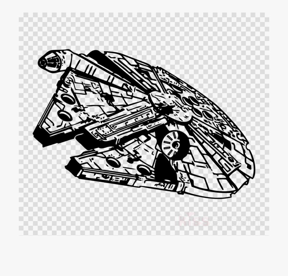 Millennium Falcon Clipart.