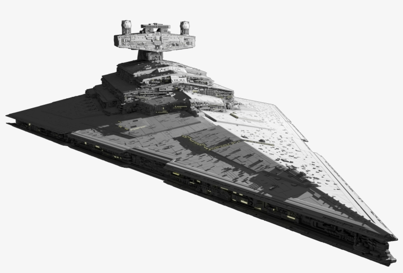 Star Destroyer Render.