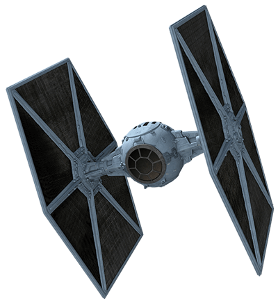 Starwars Spaceship transparent PNG.