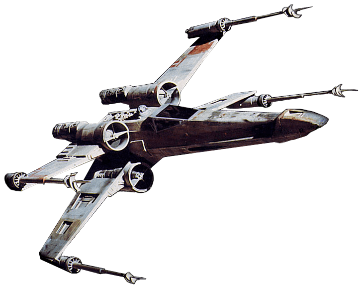 Star Wars Spaceship transparent PNG.