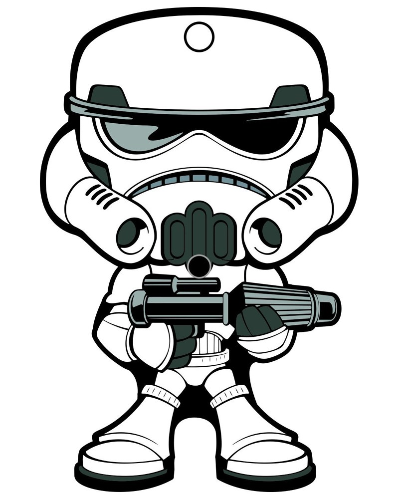 Stormtrooper Drawing.