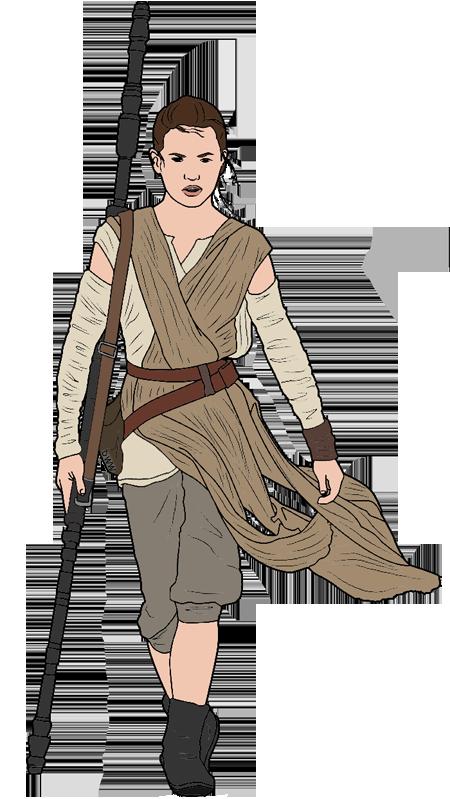 Star Wars: The Force Awakens Clip Art.