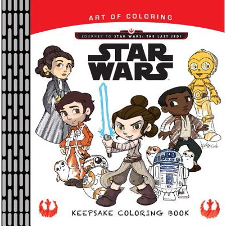 Art of Coloring Journey to Star Wars: The Last Jedi: Keepsake Coloring Book.