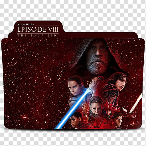 Star Wars Episode VII The Last Jedi Folder Icon, Star Wars.