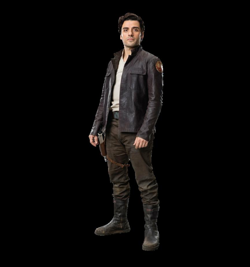 PNG Poe Dameron (Star Wars, The Last Jedi, Force Awakens.