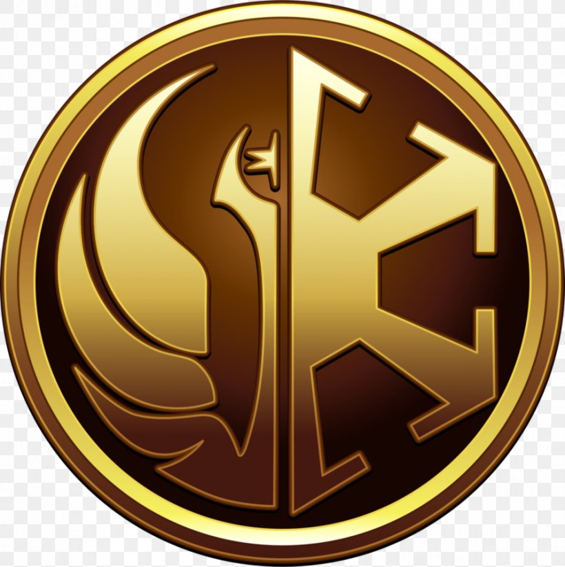 Star Wars: The Old Republic Jedi Insegna Badge, PNG.