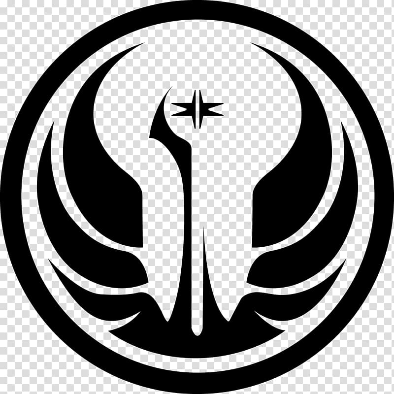 Star Wars: The Old Republic Galactic Republic Jedi Logo.