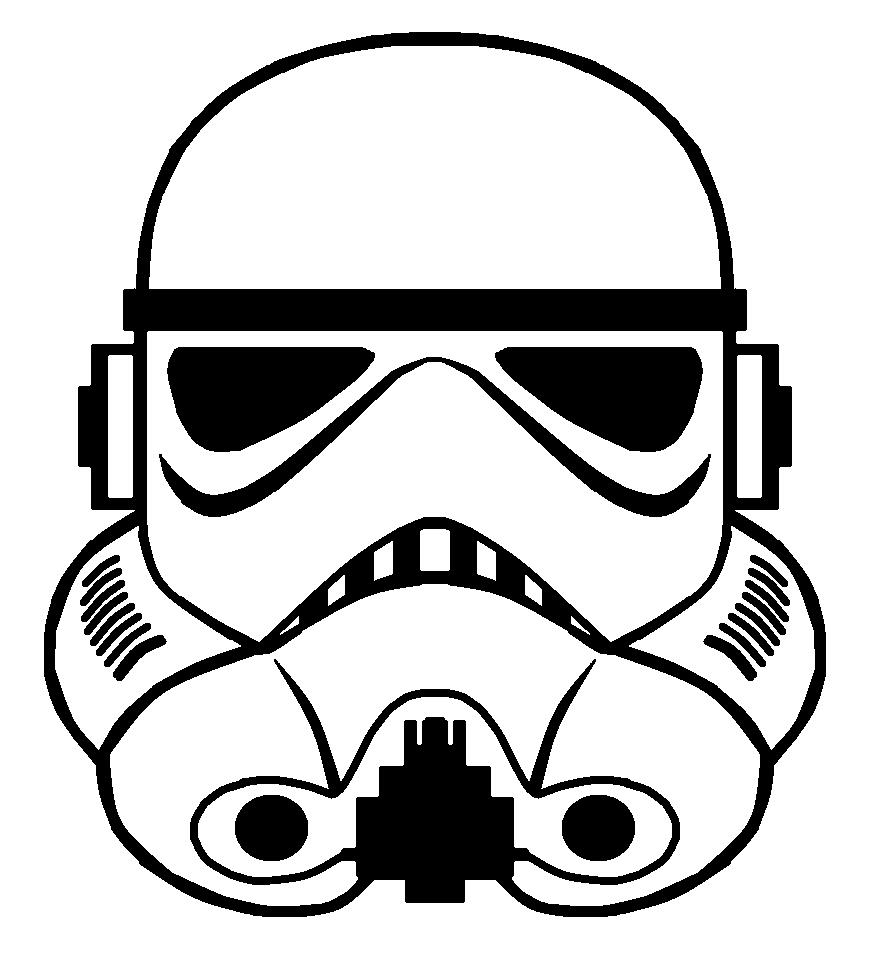 Storm Trooper Helmet Vector by sabresteen.deviantart.com on.