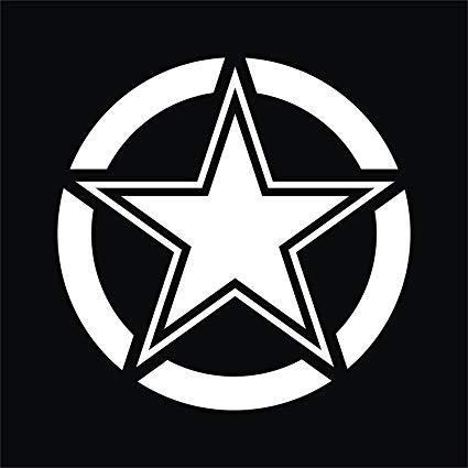 CVANU Star Logo For Royal Enfield Bullet Sticker.