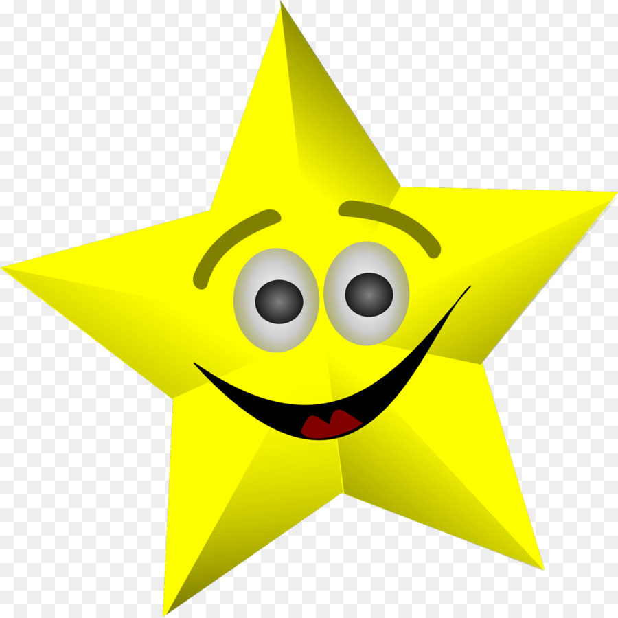 Smiley Face Star Clip art.