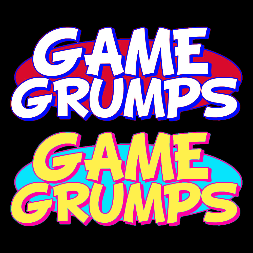 GG Logo but NSP and Starbomb colors : gamegrumps.