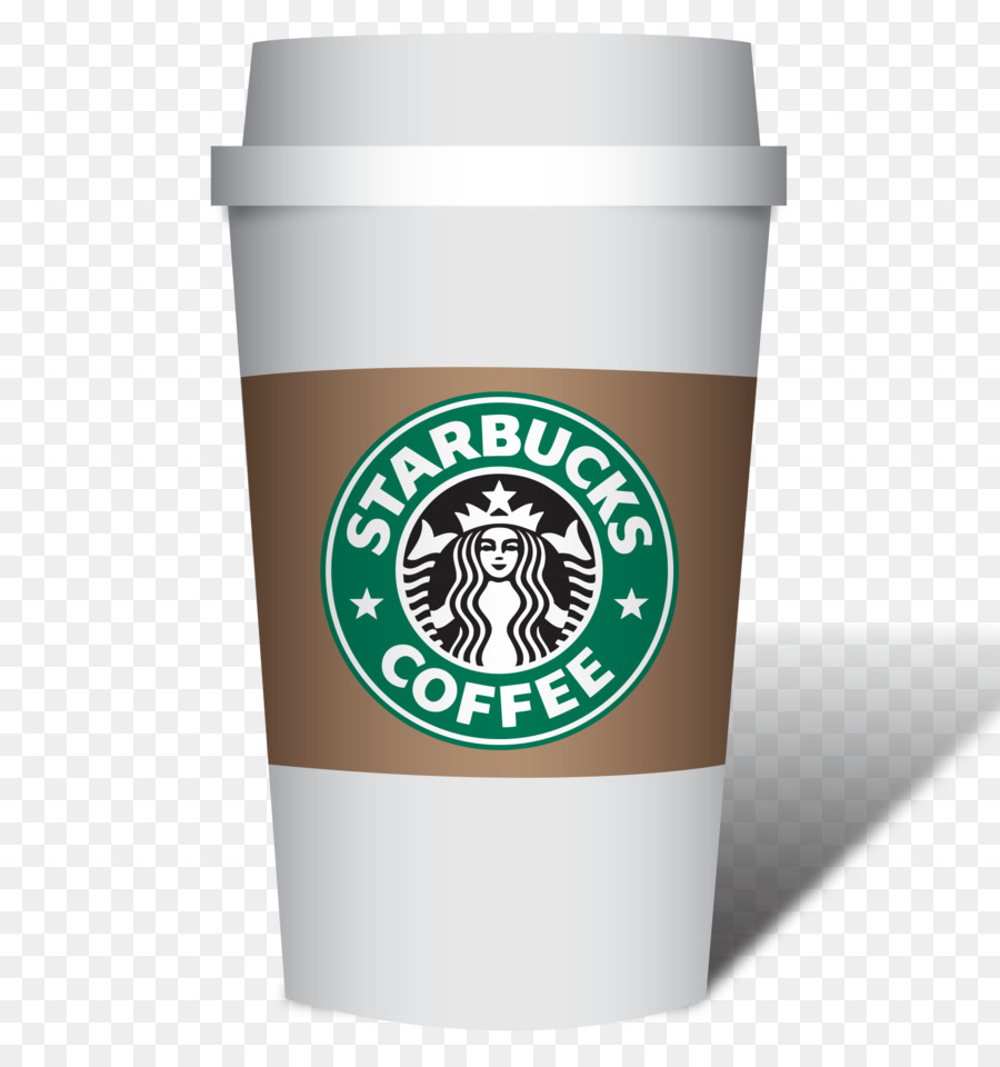 Starbucks Coffee Cup Background clipart.