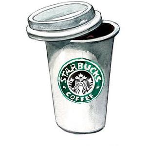 Starbucks clipart free.