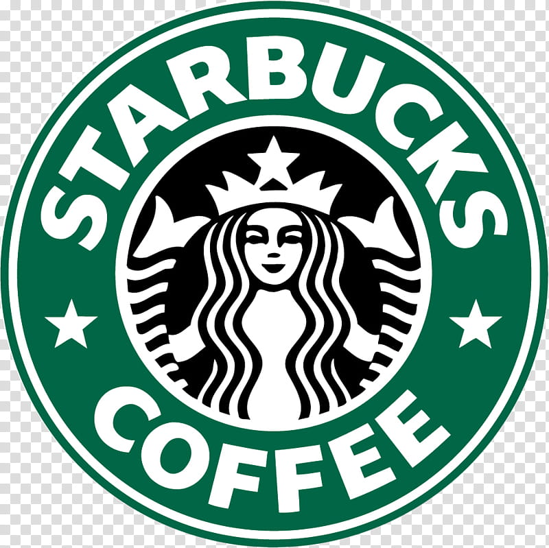 Starbucks Coffee logo transparent background PNG clipart.