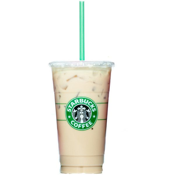 Starbucks Iced Coffee ❤ liked on Polyvore featuring food.