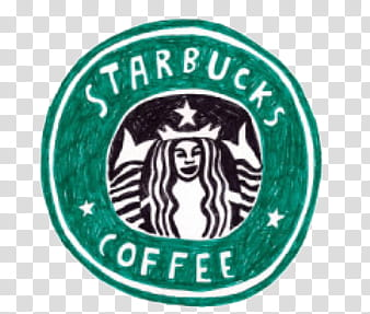 Doodles and Drawing , Starbucks Coffee logo illustration.