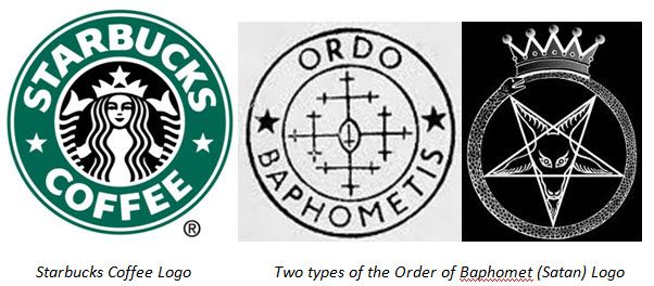 Starbucks Logo Exposed.