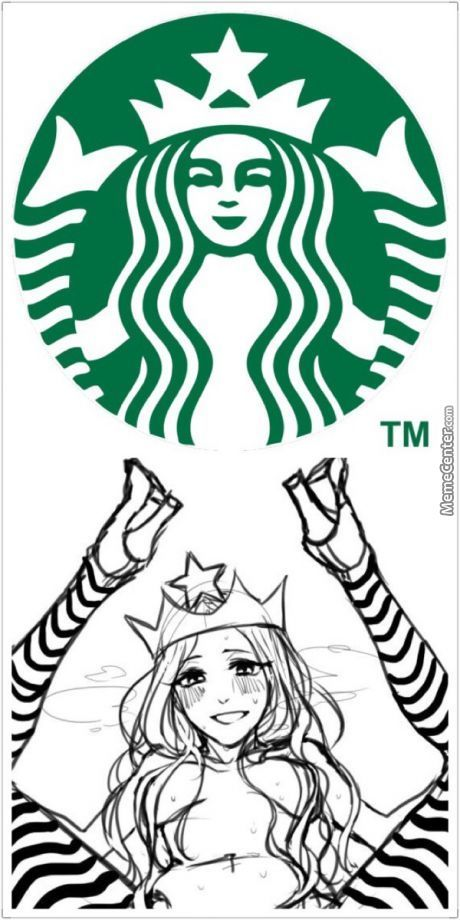 The Real Meaning Of The Starbucks Logo! by adventex.
