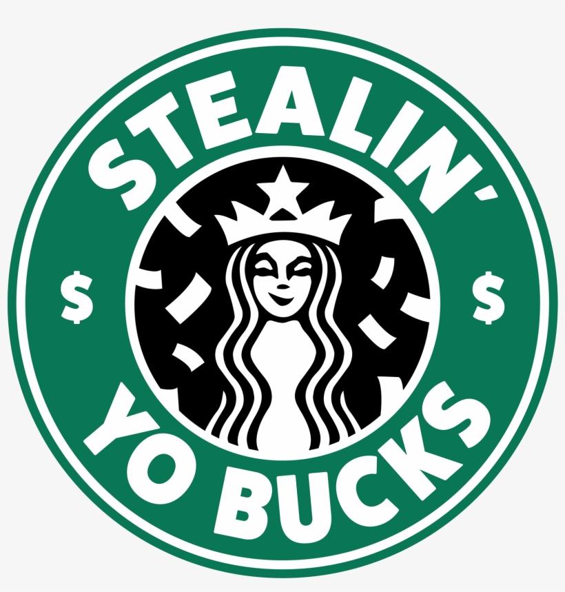 Starbucks Logo Parody PNG Image.