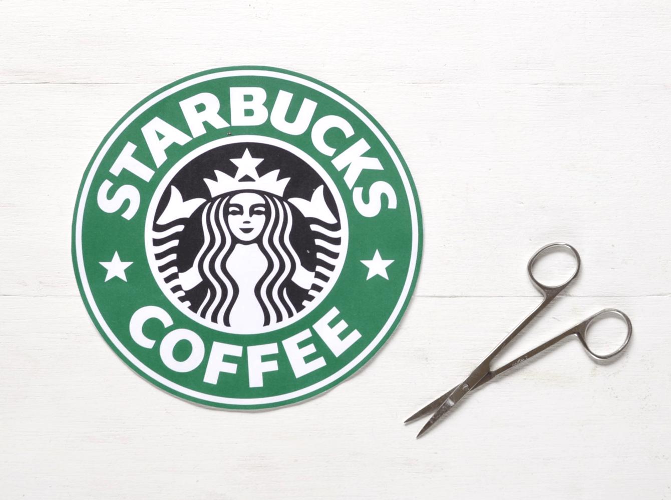Large Printable Starbucks Logo.