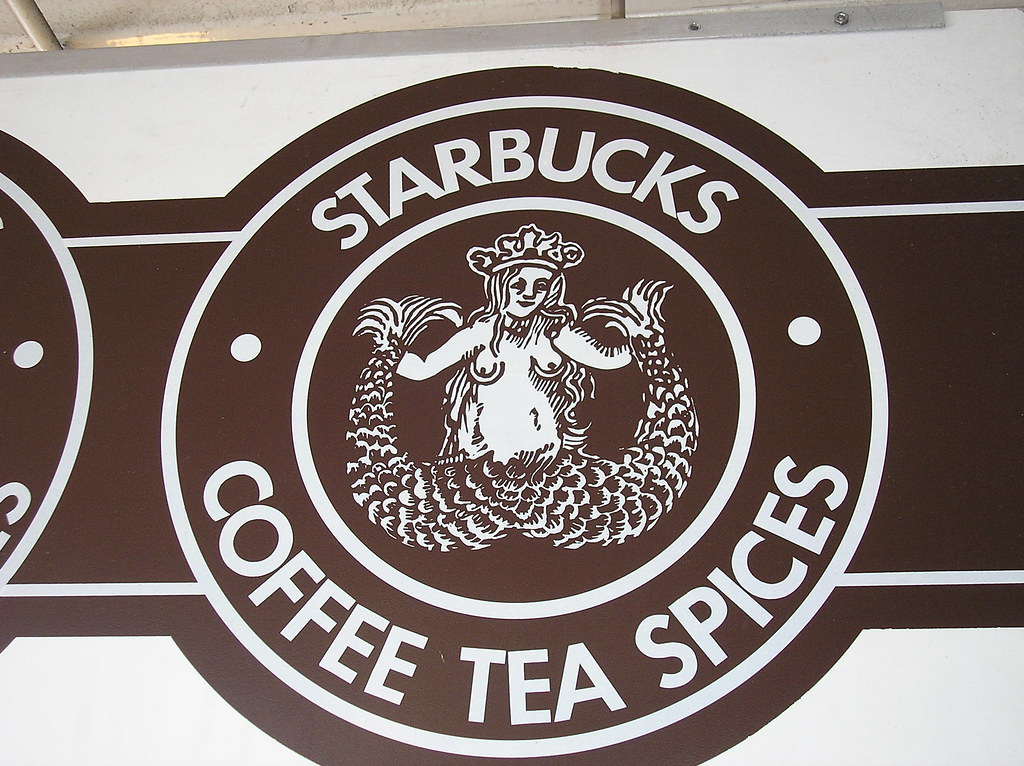 Starbucks Old Logo.