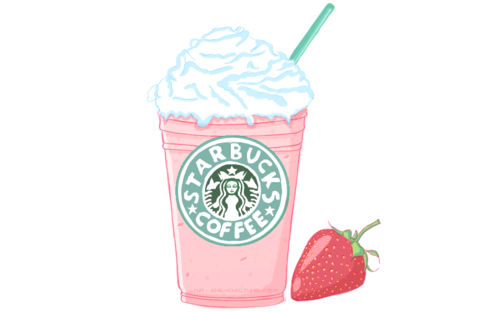 Starbucks frappe sketch..