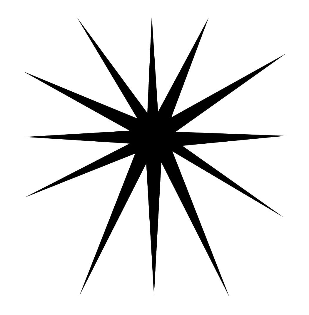 Starburst Clipart.