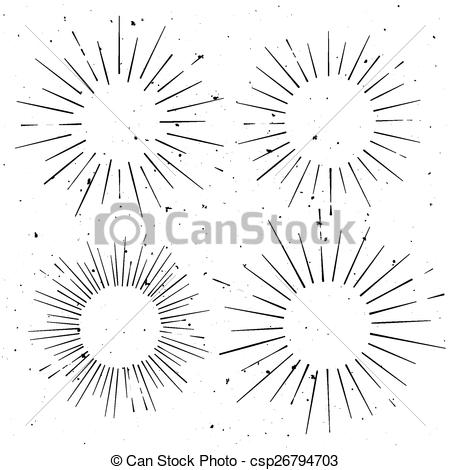 Starburst Clipart Vector Free.