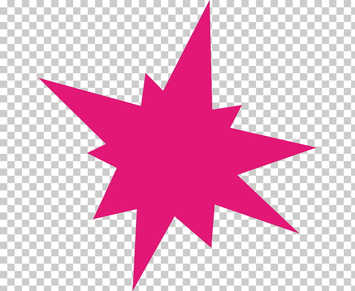Explosion , starburst PNG clipart.