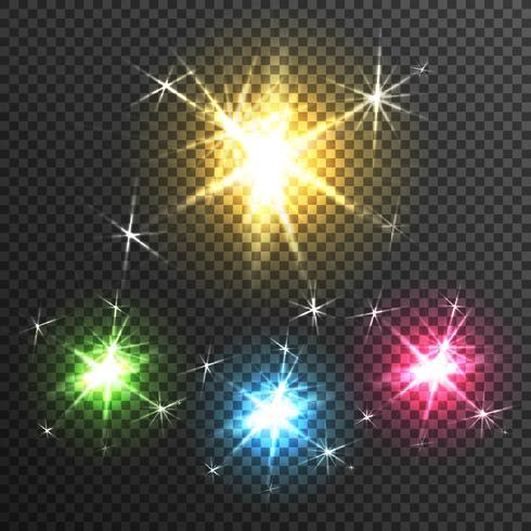 Starburst Light Effect Transparent Image.