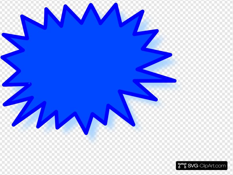 Starburst Clip art, Icon and SVG.