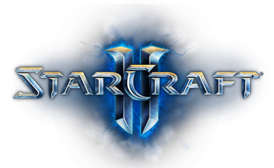 Starcraft 2 logo PNG.