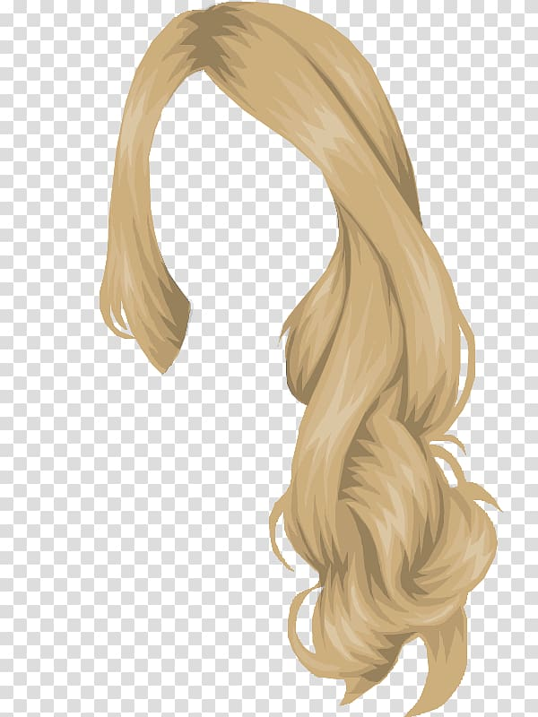 Stardoll Long hair Hair coloring, hair transparent.
