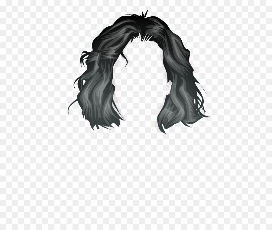 Hair Cartoon clipart.