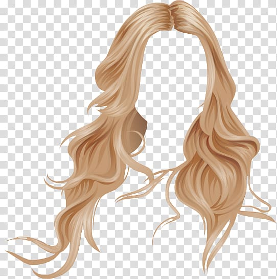 Woman\'s brown hair , Hairstyle Stardoll Long hair, hair.