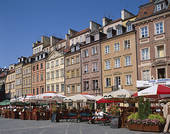 Stock Photography of Poland, Old Town Square (Stare Miasto) 0495.