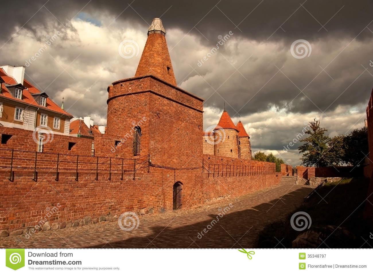 Warsaw Stare Miasto Royalty Free Stock Photography.